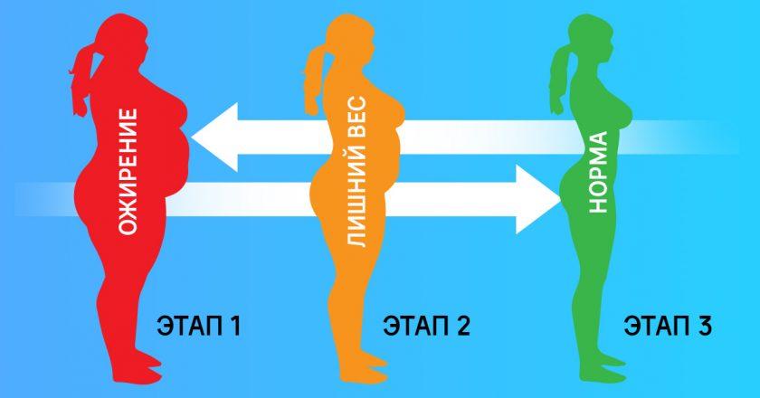 Метаболическая диета этапы