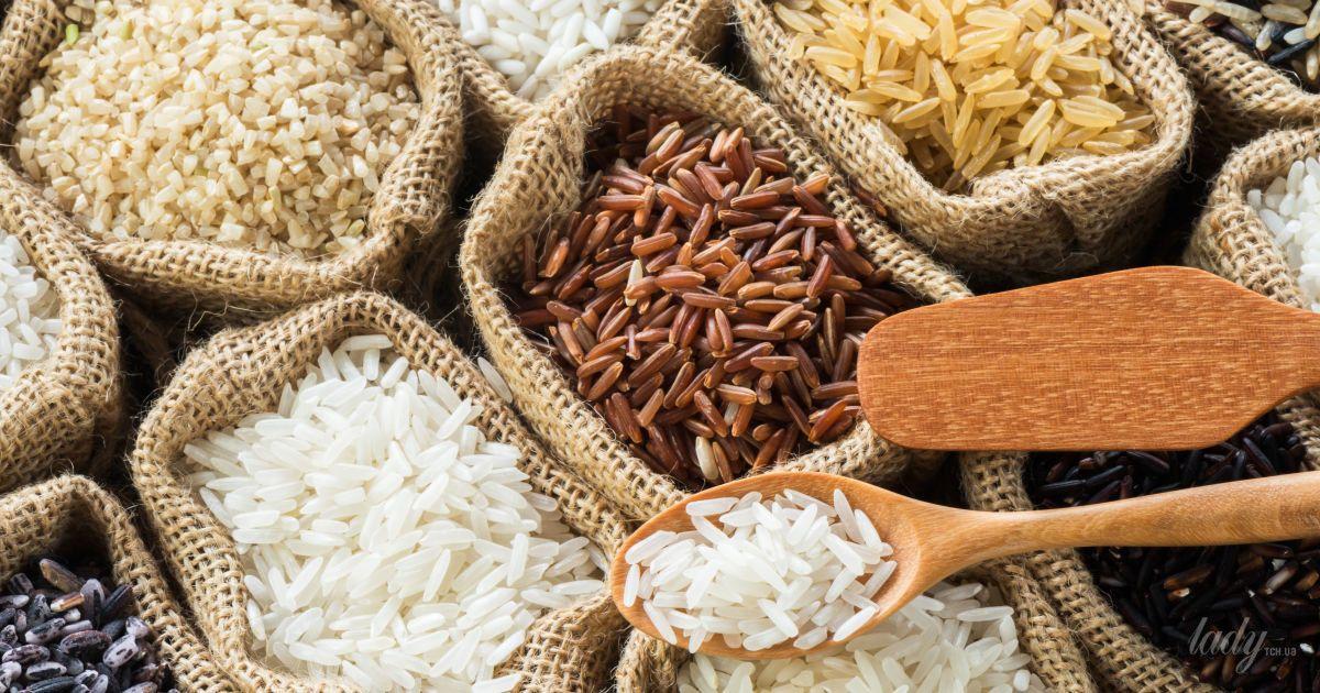 Диета с бурым рисом