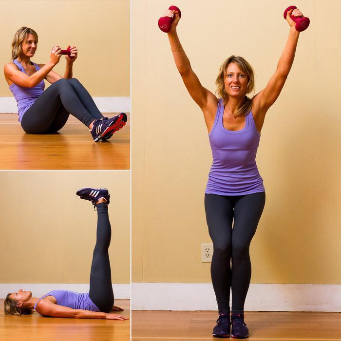 Тренировка для женщин в домашних условиях