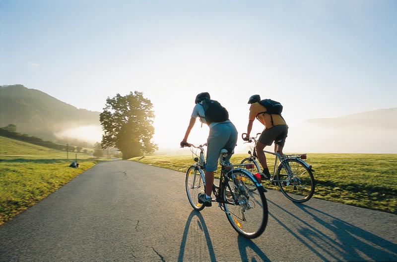 Чем полезна езда на велосипеде
