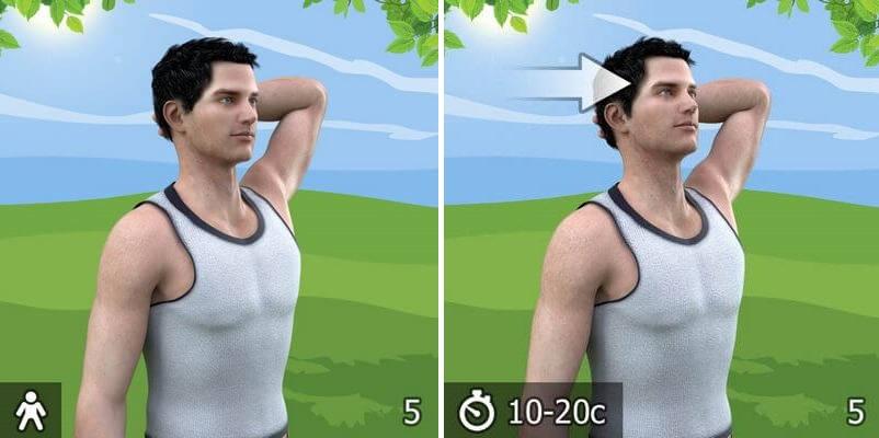 упражнение от остеохондроза 5