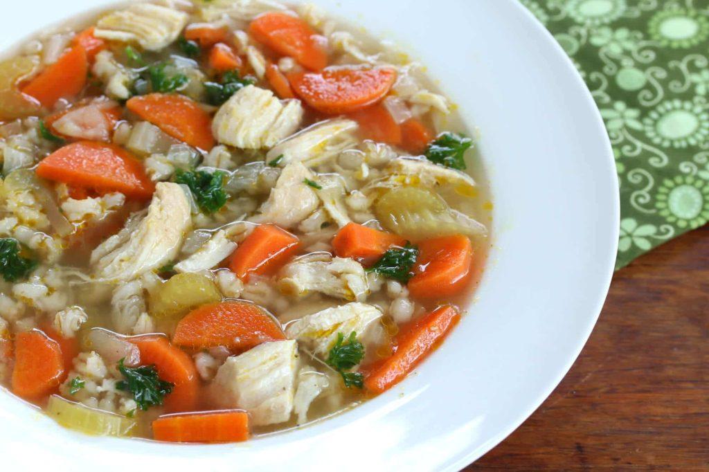 Суп перловый диета 5