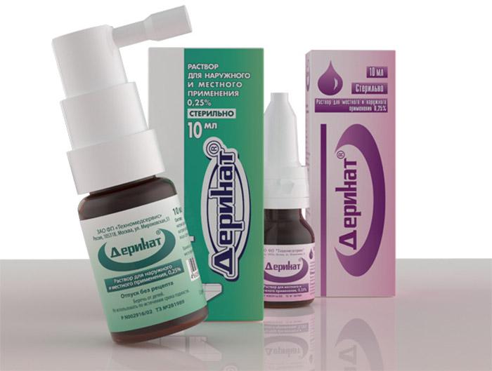 деринат - эффективное средство для новорожденных