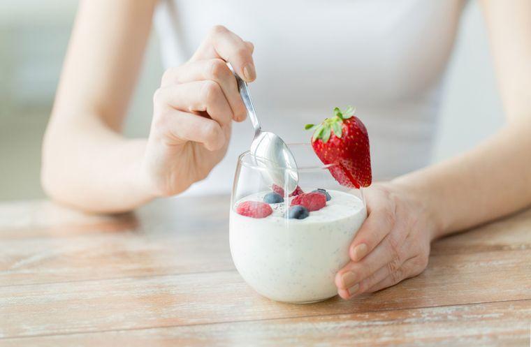 Щадящая трехдневная диета на йогуртах