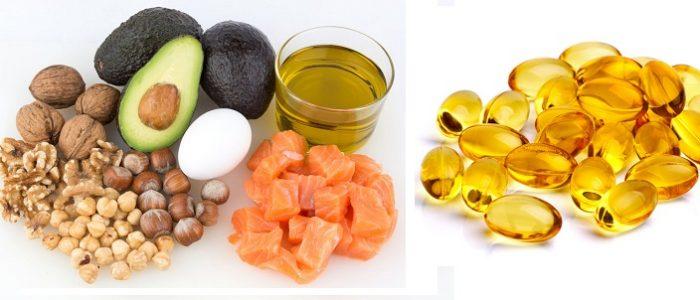 Продукты с содержанием линолевой кислоты
