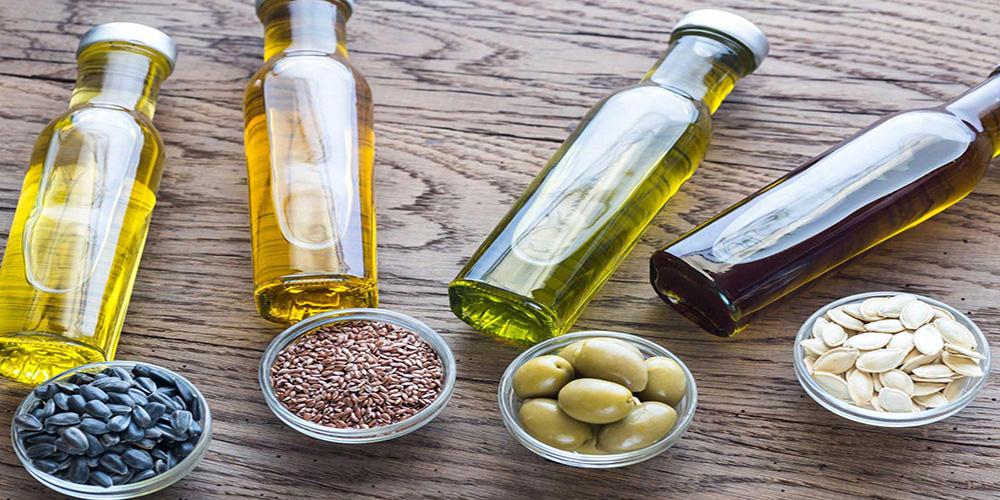 Оливковое и льняное масло