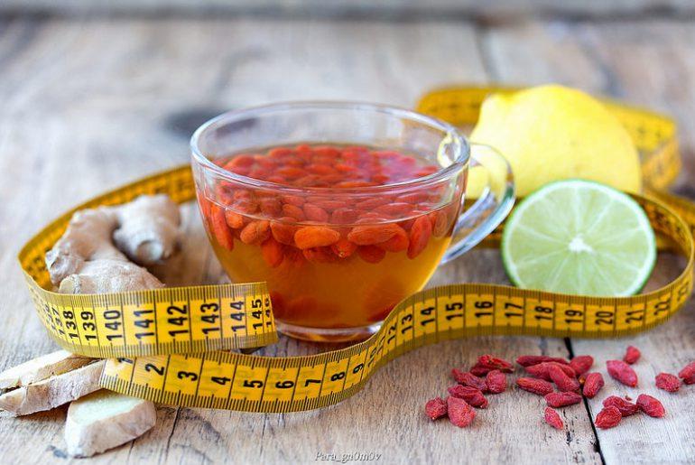 Чай из плодов годжи